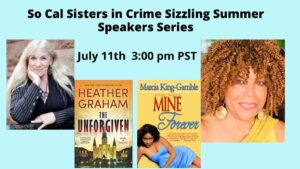 July 11, 2021: Heather Graham and Marcia King Gamble on Putting Mystery into Romance